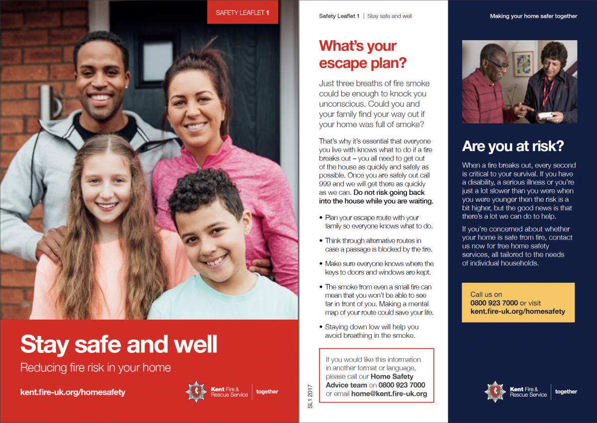 Kent Fire & Rescue campaign examples