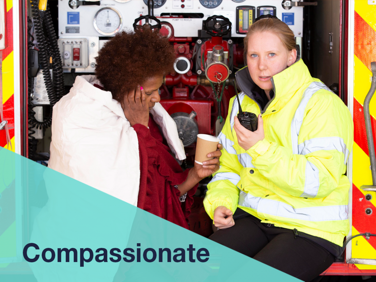 Kent Fire & Rescue Service Compassionate Volunteers banner