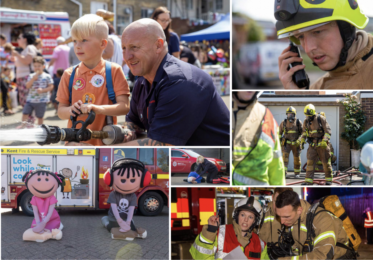 Kent Fire & Rescue image gallery